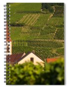 Alsace Church Spiral Notebook