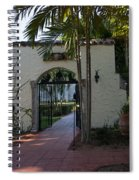 Ancient Spanish Monastery Spiral Notebook