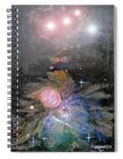 Aphrodite In Orion's Nebula Spiral Notebook