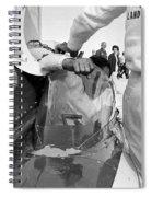 Art Arfons In Tight Squeeze Spiral Notebook