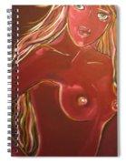 Art Nude Spiral Notebook