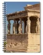 Athens, Attica, Greece. Porch Spiral Notebook