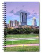 Austin At Twilight Spiral Notebook