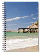 Australian Beach Spiral Notebook