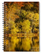 Autumn Color Spiral Notebook