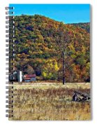 Autumn Farm Spiral Notebook