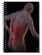 Back Pain Spiral Notebook
