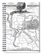 Battle Of Saratoga, 1777 Spiral Notebook