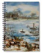 Bay Scene Spiral Notebook
