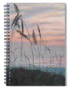 Beach Morning View Spiral Notebook