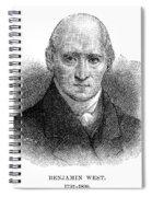 Benjamin West (1738-1820) Spiral Notebook