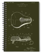 Bicycle And Motorcycle Seat 1925 Patent Spiral Notebook