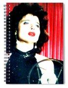Blue Velvet Spiral Notebook