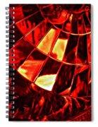 Brake Light 12 Spiral Notebook
