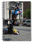 Breakdancers Spiral Notebook