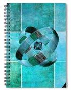 3 By 3 Ocean Rings Spiral Notebook