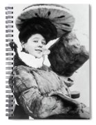 Camille Clifford (1885-1971) Spiral Notebook