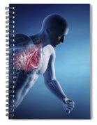 Cardiovascular Exercise Spiral Notebook