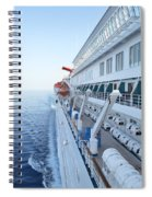 Carnival Elation Spiral Notebook