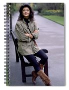 Catherine Zeta Jones Spiral Notebook