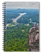 Chimney Rock At Lake Lure Spiral Notebook