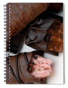 Chocolate Candies Spiral Notebook