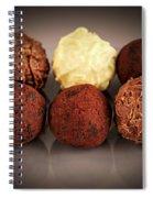 Chocolate Truffles Spiral Notebook