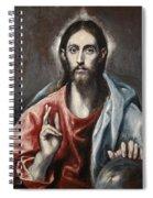 Christ Blessing Spiral Notebook