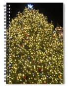 Christmas Tree Ornaments Faneuil Hall Tree Boston Spiral Notebook
