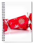 Christmas Crackers Spiral Notebook