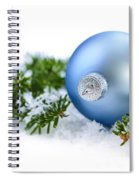 Christmas Ornament Spiral Notebook