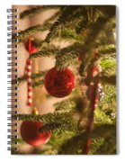 Christmas Tree Ornaments Spiral Notebook