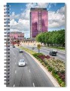 City Streets Of Charlotte North Carolina Spiral Notebook
