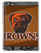 Cleveland Browns Spiral Notebook