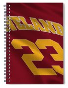 Cleveland Cavaliers Uniform Spiral Notebook