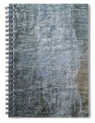 Close-up Of A Metal Wall Surface Spiral Notebook
