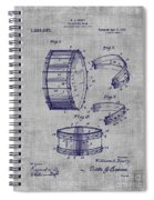 Collapsible Drum Patent 008 Spiral Notebook