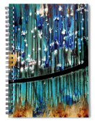 Colorful Abstract Spiral Notebook