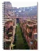 Colosseum Spiral Notebook