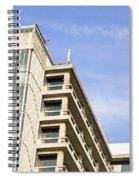 Concrete Building Spiral Notebook