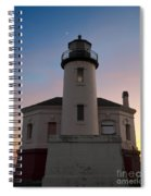 Coquille River Lighthouse Spiral Notebook
