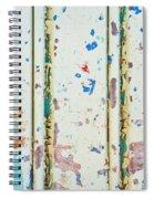 Corrugated Metal Spiral Notebook