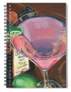 Cosmo Martini Spiral Notebook