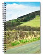 Country Track Spiral Notebook