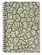 Cracked Dry Clay Spiral Notebook