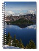 Crater Lake - Oregon Spiral Notebook