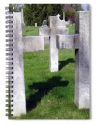 3 Crosses Spiral Notebook