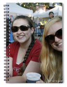 3 Cutie Amigas Spiral Notebook