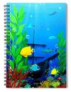 3-d Aquarium Spiral Notebook
