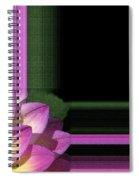 Dahlia Named Jowey Gipsy Spiral Notebook
